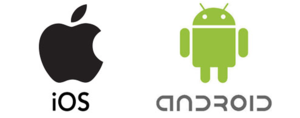 ios android logo